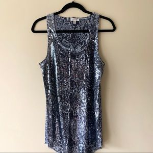Urban Outfitters Silence + Noise Sequin Tank Top